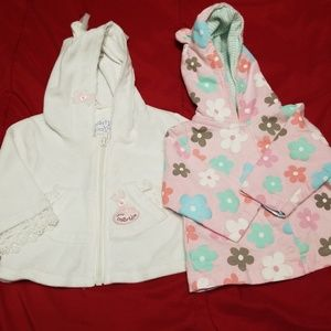 0-3 & 3-6 months baby girl Jackets